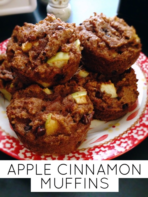 clean apple cinnamon muffins